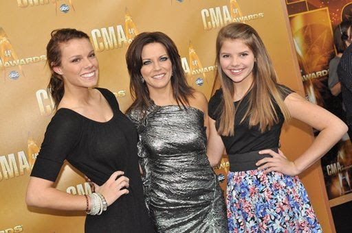 Photo of Martina McBride & her Daughter  Delaney Katharine McBride